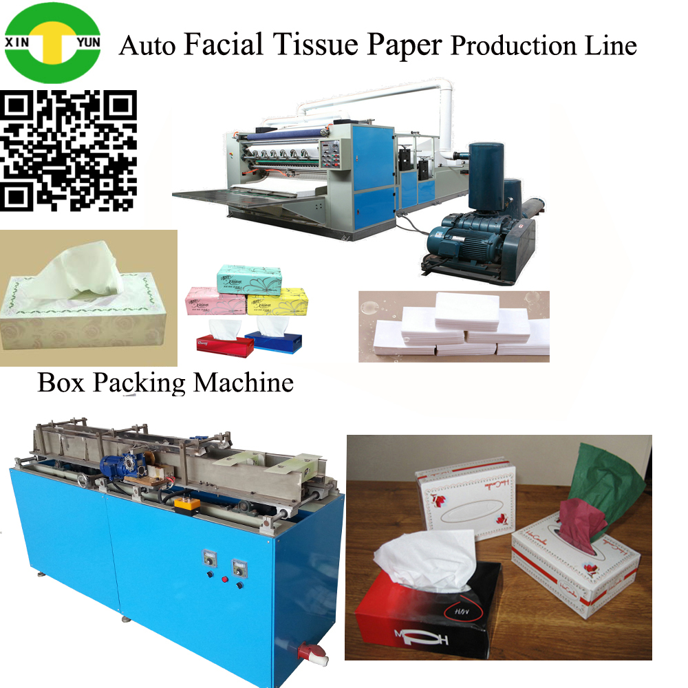 Facial paper folding embossing cutting machine automatic facial tissue machine manufacturer