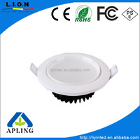 Recessed 9w led down Lamp for kitchen lighting