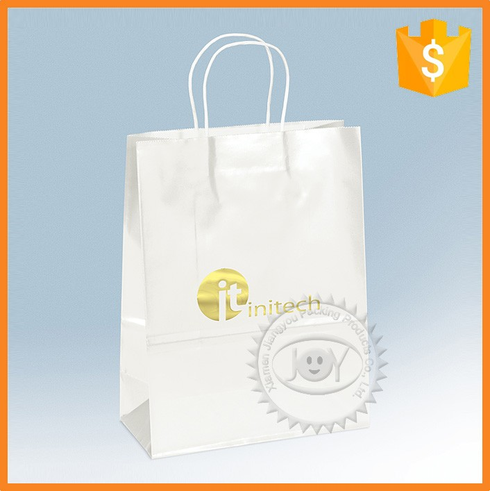 High quality design fancy funny makeup cosmetic kraft paper bag