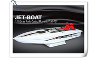 757-6038 1:10 Scale Radio Control Mosquito Craft RC Boat Ship for sale