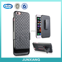 Sliding Weave Pattern Holster Combo Case For Iphone 6s Plus With Kickstand&Belt Clip