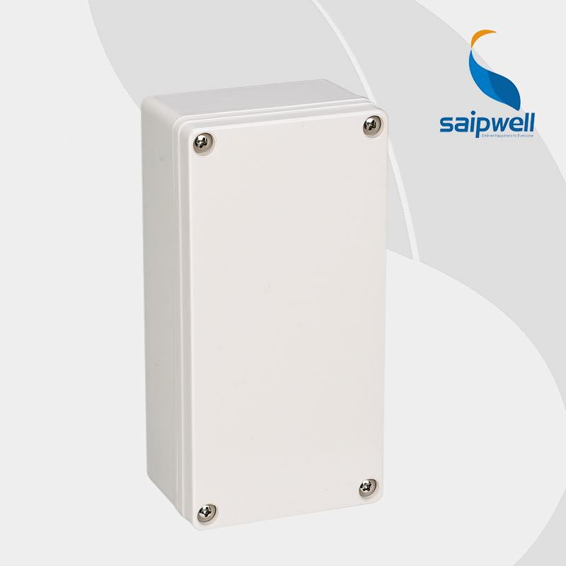 SAIP/SAIPWELL Gray Cover IP66 Waterproof 80*160*55mm Electrical Junction Box(DS-AG-0816-S)