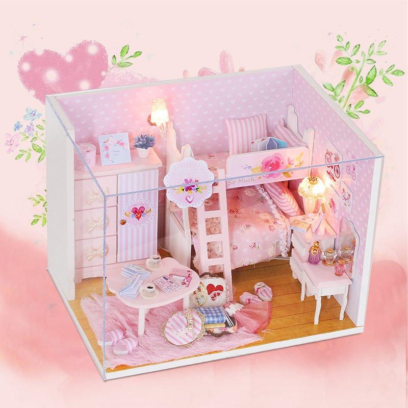 2017 Factory Direct Wholesale OEM and ODM Jigsaw Puzzle Educational Wooden Doll House