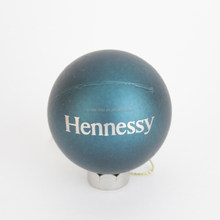 Promotional plastic Christmas ball with logo