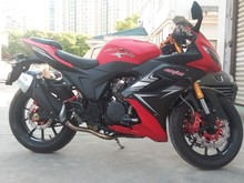 Powerful chinese 350cc racing motorcycle