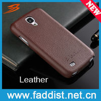 genuine leather case for samsung galaxy s4 flip cover case