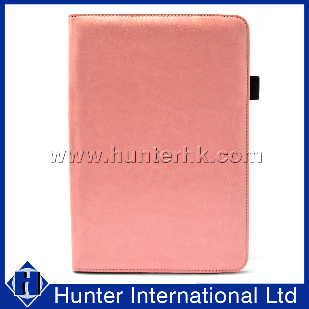Pink Colour Rotating Tablet Case For Kindle Fire