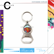 Chile Country Wine Accessories Key Chain for Gift Dream Building Stainless Steel Bottle Opener