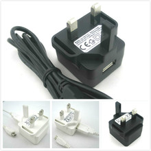 travel adapter 5.0V1.0A (1000mA) 5W ac adaptor for England