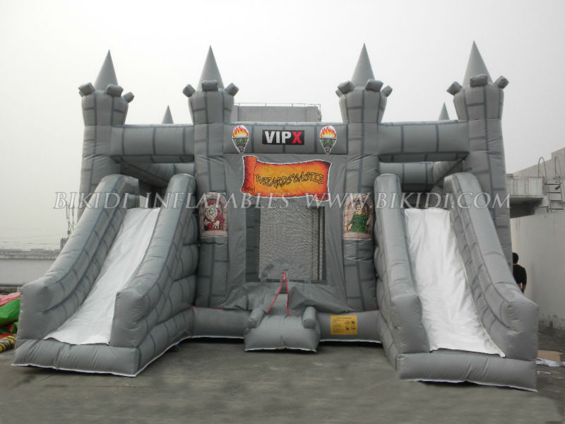 Wizard's combo castle, inflatable jumping castle B3069