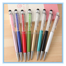 Original factory wholesale hot selling crystal touch ballpen
