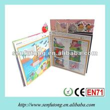 Education cartoon book for children
