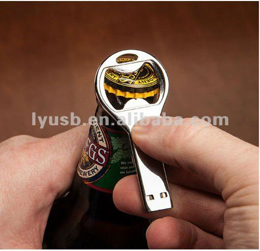 4GB 8GB Bottle Opener Shaped Thumbriver Flash Driver in high quality