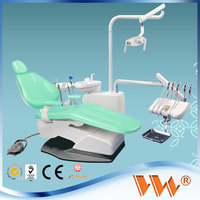 dental chair plastic cover with LED sensor lamp light cure and scaler
