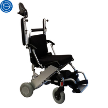 Brushless motor electromagnetic brake folding electric power wheelchair prices for disabled people