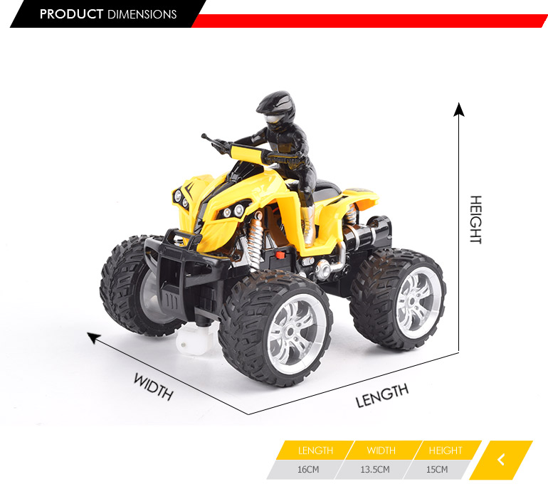 newest products 4ch remote control toy motorbike for 360 degree rotation