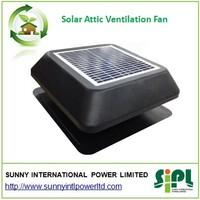 Solar vent air conditioner exhaust fan industrial Green energy solar roof fan air cooler fan