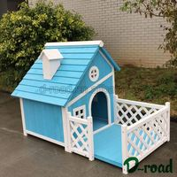 2016 New Design Custom Shape Printed House Dog Wooden