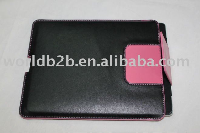 for ipad2/3/4/5 leather case sleeve bag