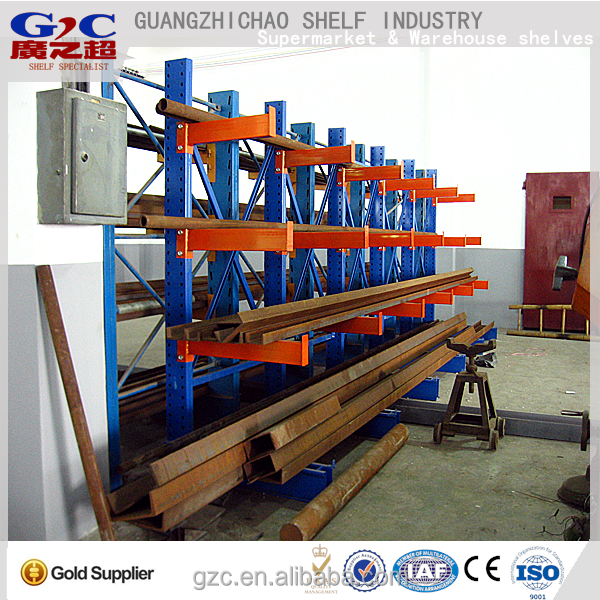 Shenzhen factory heavy duty Adjustable Cantilever shelving