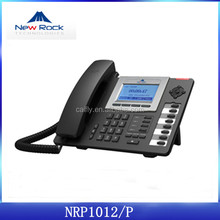 New Rock Wifi Desktop IP Phone Supports RJ-9headset NRP1012/P