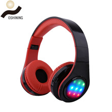 Cheap Price Colorful Bt Wireless Headset Stereo Headphone