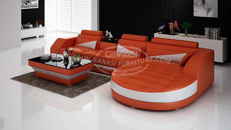 New Arrival Modern Living Room Furniture Small Fabric Sofa