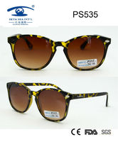 2014 most popular plastic sunglasses for women promotion eyewear