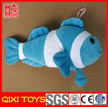 plush little animals plush fish keychain toy