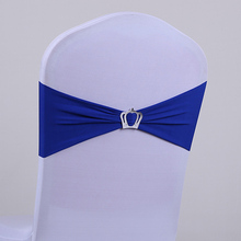 Hot Sale Romantic wedding snow organza satin polka dot chair sash/ white chair chair cover with organza sash