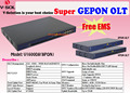 GEPON 16PON OLT Can Unified Managerment Internet , VoIP , CATV and WIFI of ONUs