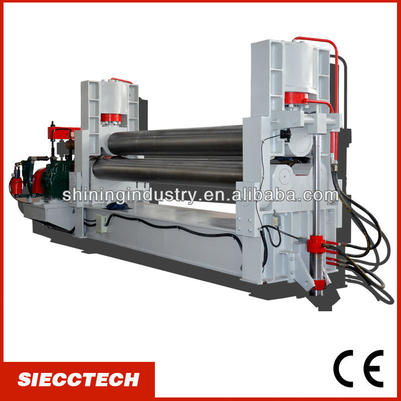 "INT'L BRAND:""SIECCTECH""- <strong>W11S</strong> 50X3000 3 <strong>ROLLER</strong> HYDRAULIC BENDING ROLLS"