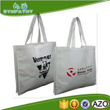 Custom print non woven bag with one color print eco shopping fabric bag wholesale