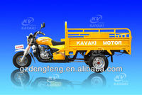 200cc engine three wheel of tricycle big cargo box size in guangzhou