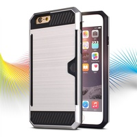 Hot Protective colourful mobile phone cover for iphone6 case
