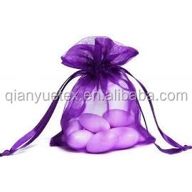 Organza sheer Fabric Nylon Bags Popular Favor Bags Soft Fabric Perfect for Wedding Gift