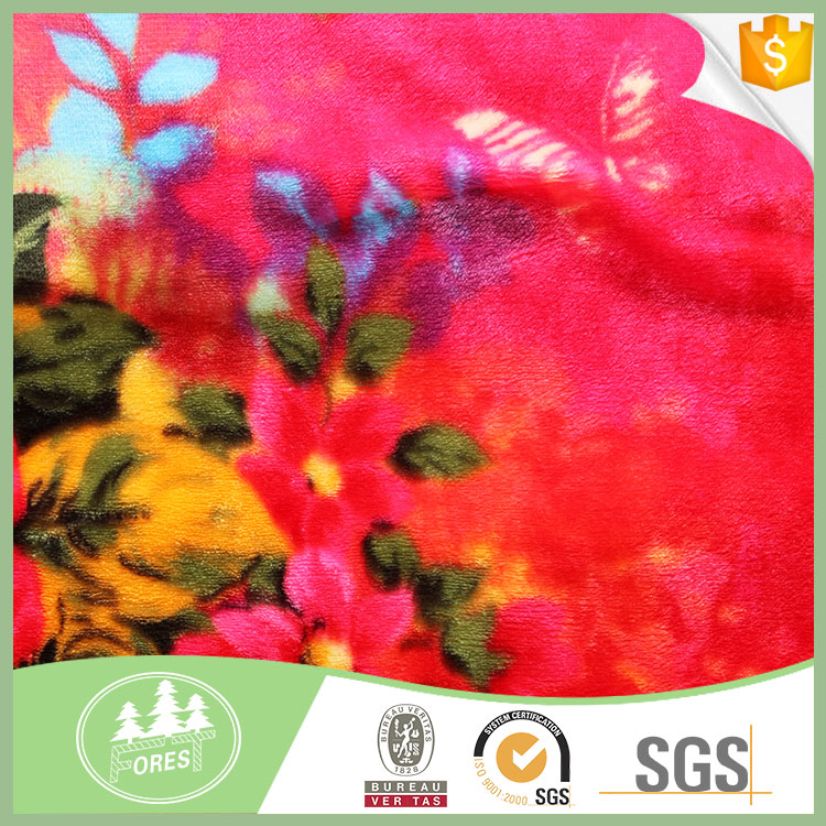 Most Popular Home Textile Use Thick Coral Fabric flooring