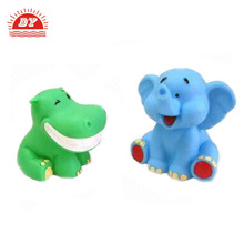 Cute Baby Elephant Sound Whistle Rubber Bath Toy