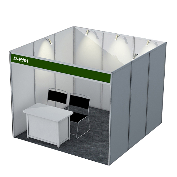 Exhibition Stall Panels : International standard aluminum shell scheme booth buy