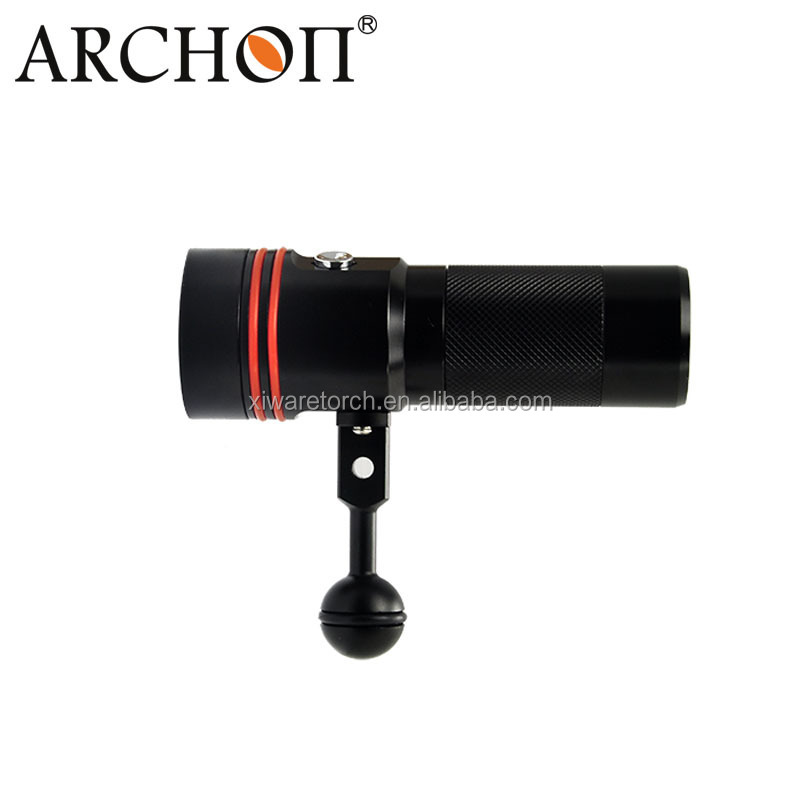 Archon D34V W40V <strong>Diving</strong> Underwater Red UV Video Flashlight 2600lm underwater