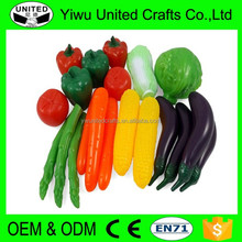 2016 Eco-friendly cheap lifelike artificial vegetable and fruit