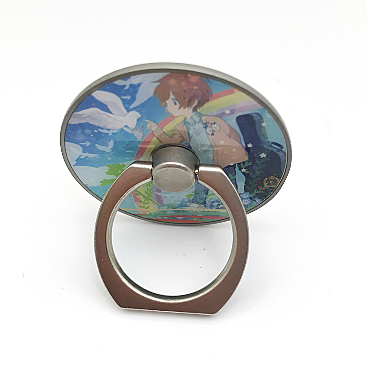 ring holder with epoxy