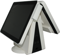 "Stylish 15"" Dual Screen PCAP Multi-touch EPOS"