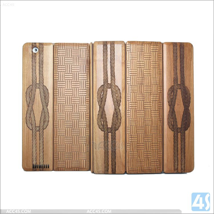 Crystal candy colors back case natural wood case for ipad 3 manufacturer