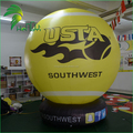 Cheap Price Giant Ground Inflatable Tennis Ball / Advertising Decor Inflatable Printing Air Sport Sphere Ball