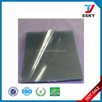 Clear pvc binding cover with 200mic transparent plastic surface