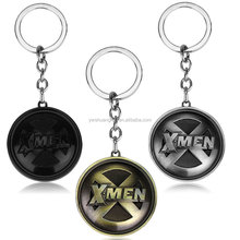 Fashion X-man Keychain for Fans Alloy Souvenir Keyring with Ring Removable