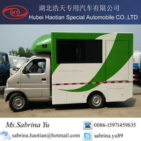 Electric Mobile Food Cart/Green Food Truck for sale