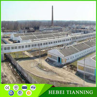 Double slope workshop building morden prefabricated housesteel structure supermarket warehouse poultry for broliers design