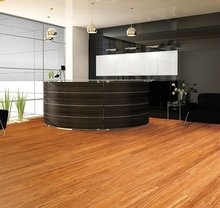 Laminated Wood Flooring - Castle Cherry